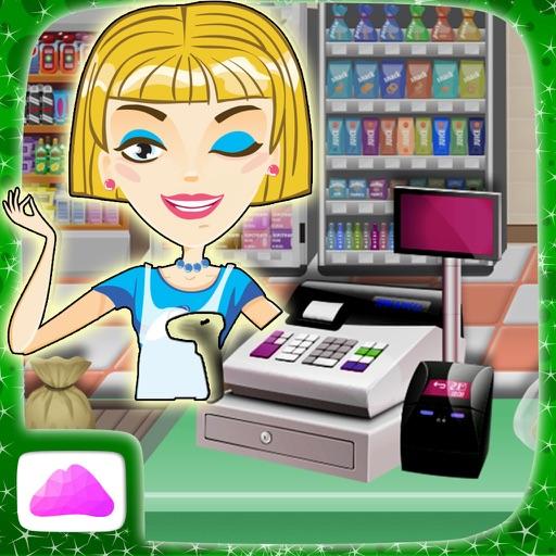 cajera de supermercado - manejar la caja registradora en este juego de simulación para los niños
