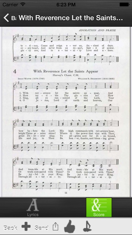 SDA Hymnals With Tunes screenshot-3