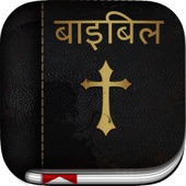 Hindi Bible: Easy to use bible app in hindi for daily christian bible book reading