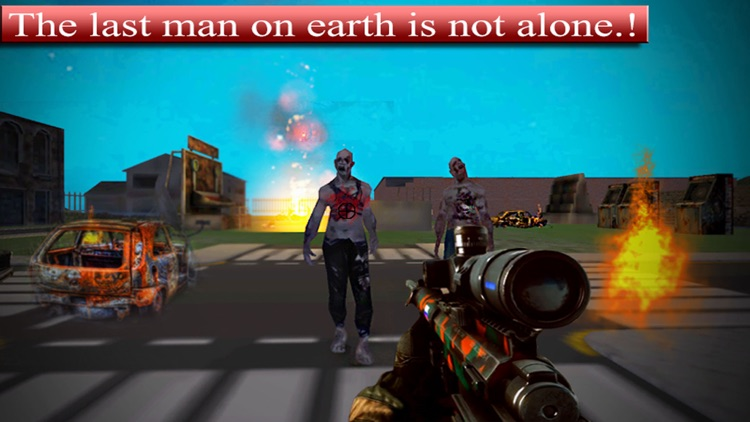 Alone at Zombie's Town -  Sniper Shooter Game