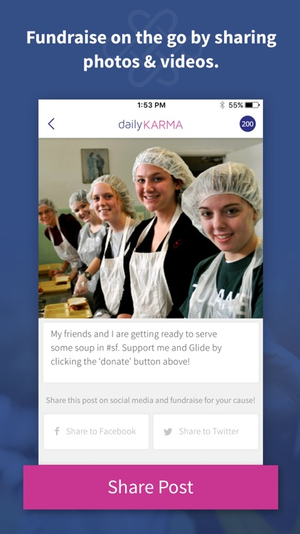 dailyKARMA: donate & fundraise with photos & video screenshot-3