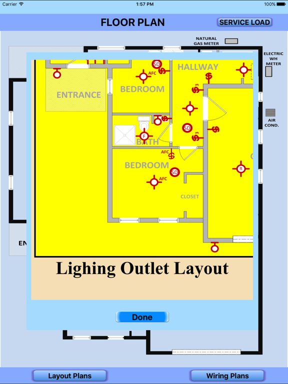 screenshot #1 for electrical wiring layout diagrams