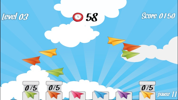 Paper Plane - Casual Airplane Shooter Game for Kids and Toddlers HD