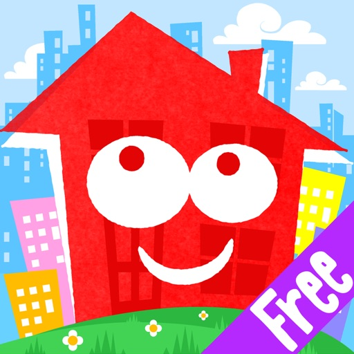 Fun Town for Kids Free - Creative Play by Touch & Learn iOS App