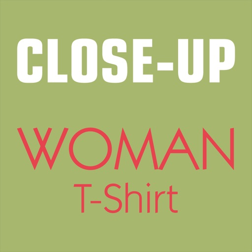 Close-Up Woman T-Shirt
