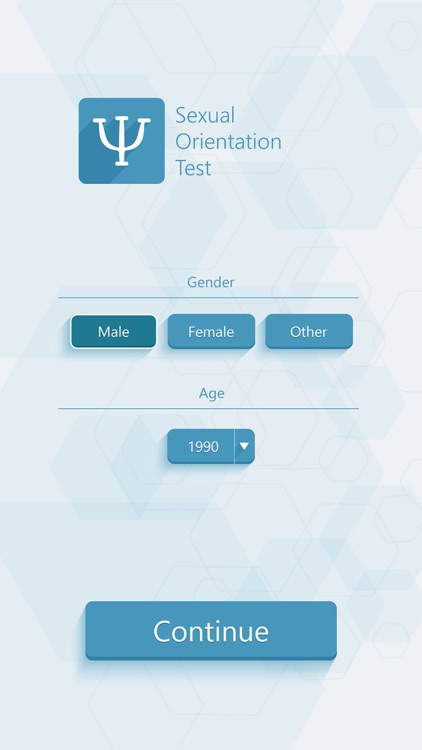 Sexual Orientation Test - Psychological Tests screenshot-1