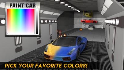 Multi-Level-Sportwagen Parkplatz Simulator 2:Auto-Lack Garage & realistische Fahr SpielScreenshot von 3
