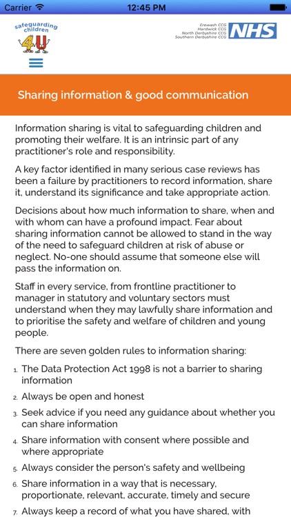 Safeguarding Children 4 U screenshot-3