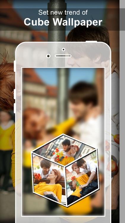 Photo Cube Live Wallpaper 3d Cube Live Wallpaper By Kishan Chapani
