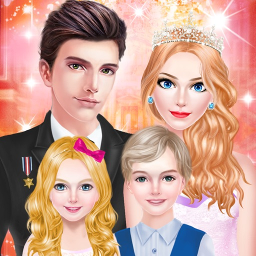 Princess Fashion - Royal Family Salon: SPA, Makeup & Makeover Game for Girls