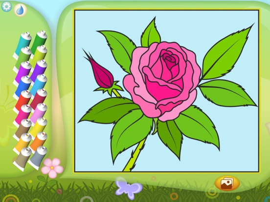 color by numbers flowers app insight download. Black Bedroom Furniture Sets. Home Design Ideas