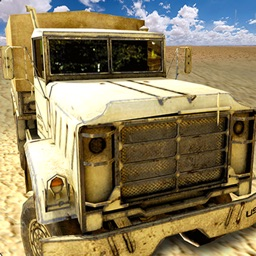 Military Truck Driver 3d