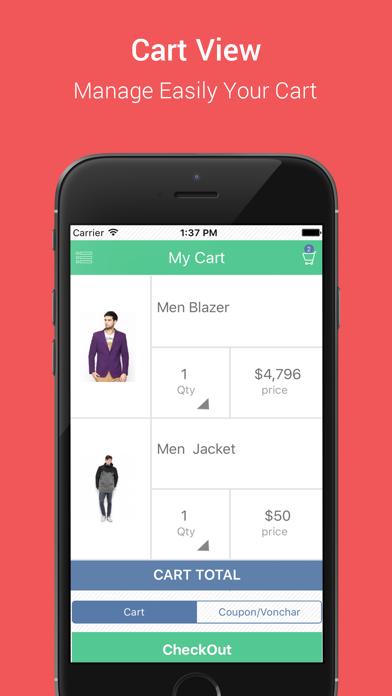 Native Opencart App screenshot three