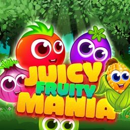 Juicy Fruity Mania - Super Amazing Match 3 Puzzle