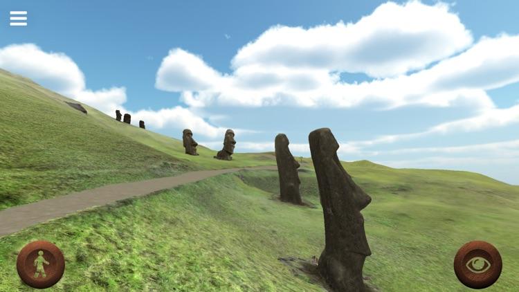 Rapanui 3D: outside Rano Raraku crater in Easter Island to explore the Moais screenshot-4