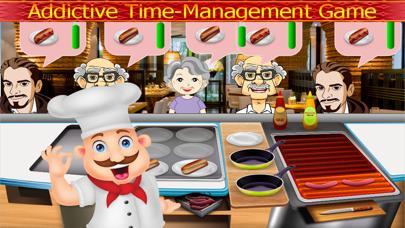 Chef Cooking Master Food Fever : Maker Hamburger,Hotdog,Pizza Free GamesScreenshot of 1
