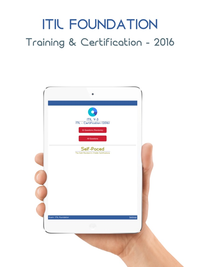 Itil V3 Self Paced On The App Store