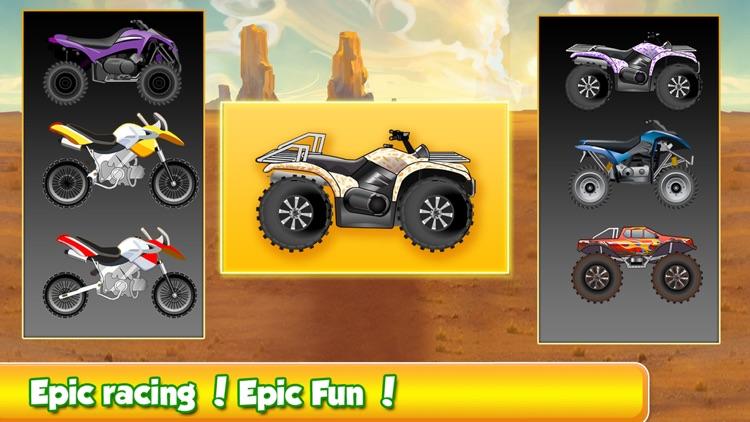 Mega Hillbilly Motorcross Trail - Rocky Downhill and Uphill mx Rally screenshot-4