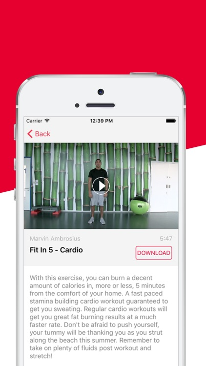 Fit Freaks - The fit in 5 fitness workout routine screenshot-3
