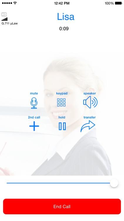 Media5-fone SIP VoIP Softphone screenshot-3