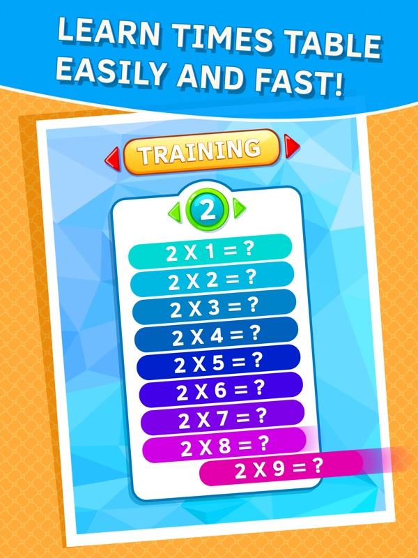 Learn Times Tables quickly - Online Game Hack and Cheat ...