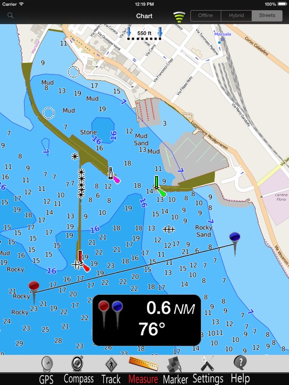 Egadi Is. Nautical Charts Pro screenshot-3