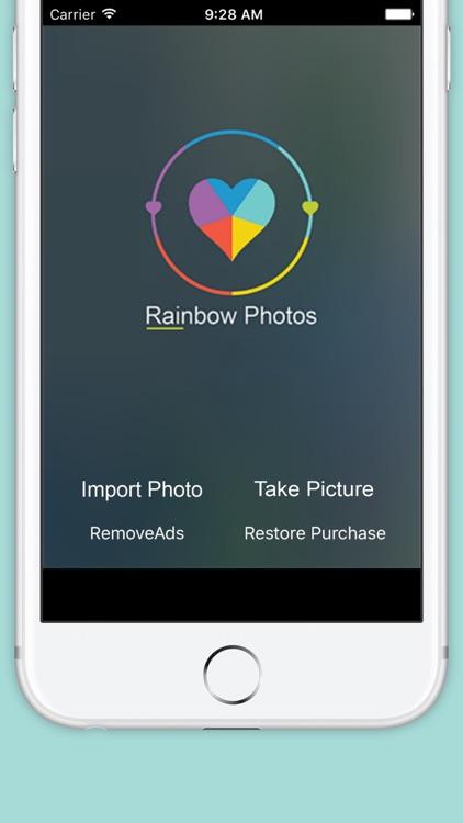 DSLR Camera Effect FX Photo Editor - Add Rainbow Effect for Insta.gram