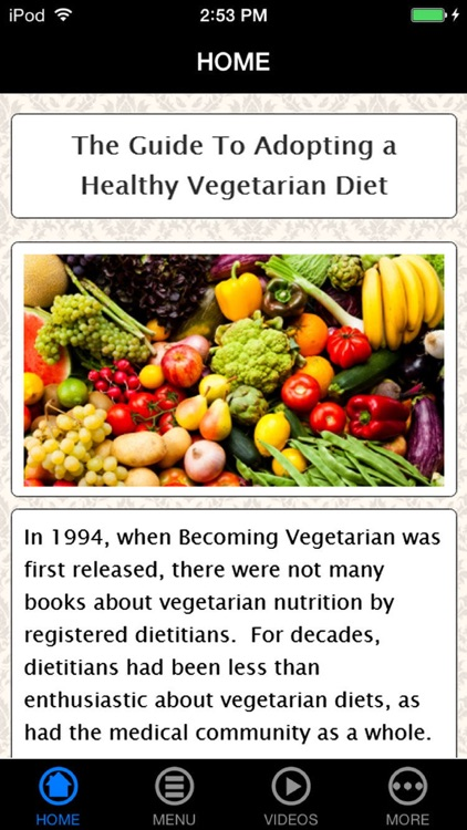 Easy Becoming a Vegetarian Guide for Beginners - Recipes, Vegan Diet and Starter Kit (Go Vegan!) screenshot-0