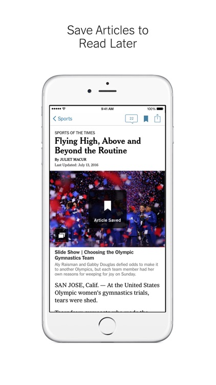 NYTimes – Breaking Local, National & World News app image