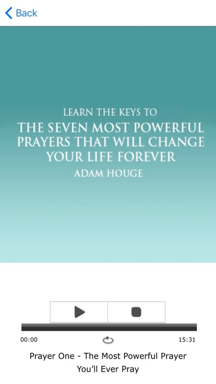 The Seven Most Powerful Prayers That Will Change Your Life Forever by Adam Houge Meditation Audiobook screenshot-3