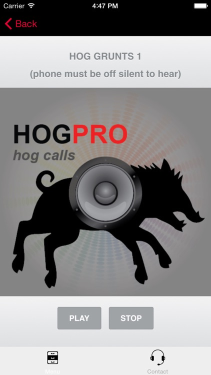 REAL Hog Calls - Hog Hunting Calls + Boar Calls BLUETOOTH COMPATIBLE screenshot-0