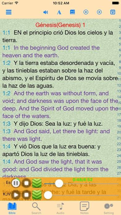 la Santa Biblia Reina Valera Spanish-English Bible   App Price Drops