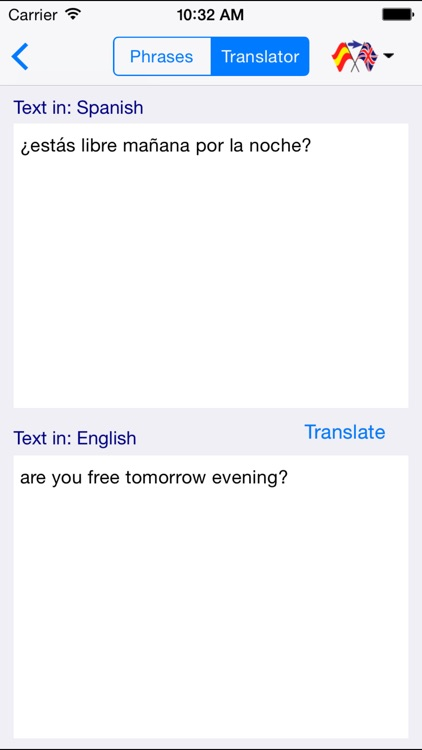 English-Spanish Love & Sex Translator (Offline) screenshot-4