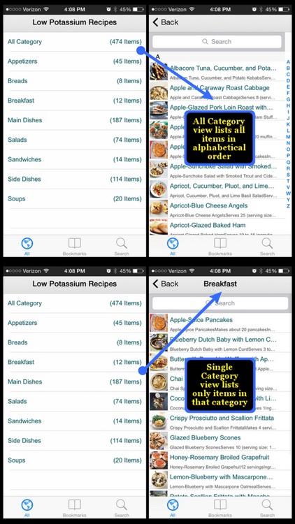 Low Potassium Recipes screenshot-3