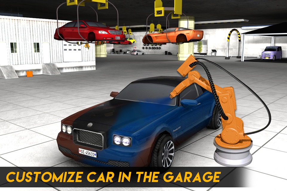Real Driving Games >> Multi Level Sports Car Parking Simulator 2 Auto Paint Garage Real