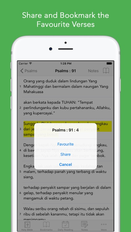 Alkitab: Easy to use Indonesian Bahasa Holy Bible App for daily offline Bible book reading screenshot-3