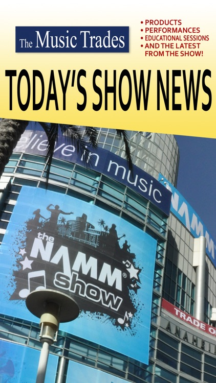 Today's Show News From Music Trades HD