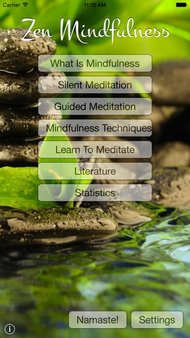 Zen Mindfulness screenshot one