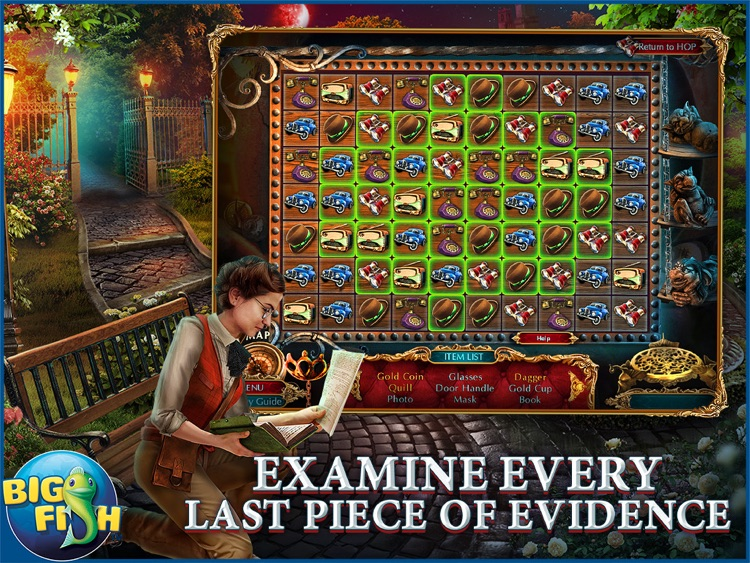 The Curio Society: Eclipse over Mesina HD - A Hidden Object Mystery (Full) screenshot-2
