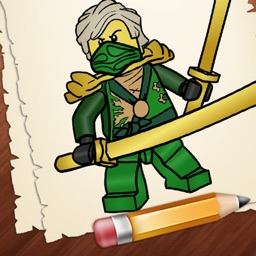 Learn How to Draw Lego Ninjago Edition