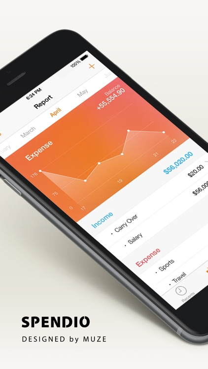 Spendio - Spending Tracker for iPhone & Apple Watch screenshot-4