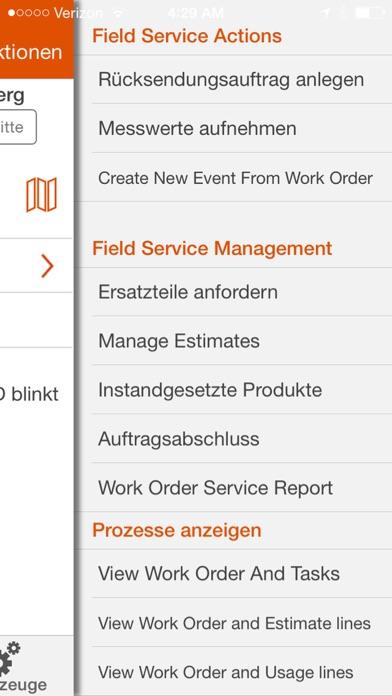 ServiceMax Spring 16 für iPhoneScreenshot von 4