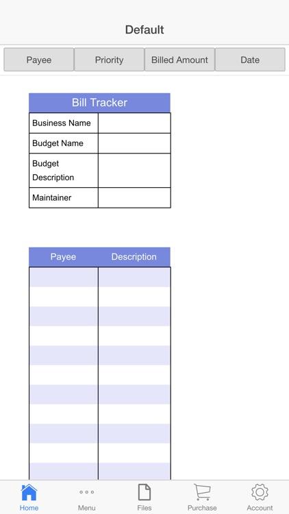 Expenses Register