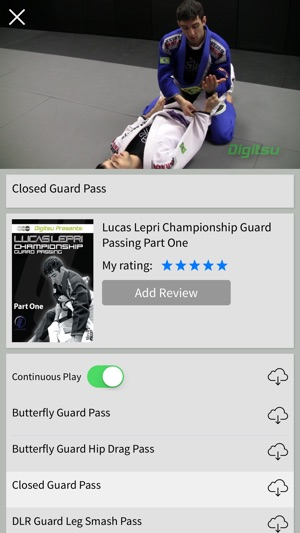 Digitsu – BJJ Brazilian Jiu-Jitsu Video Library on the App Store