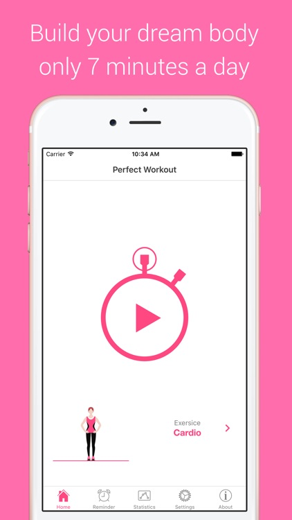 Cardio Workout - Your Daily Personal Fitness Trainer for burning calories and building endurance