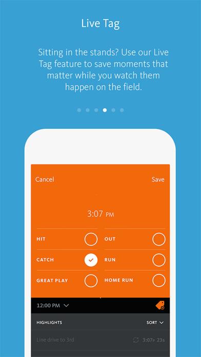 HiCast Sports Screenshot
