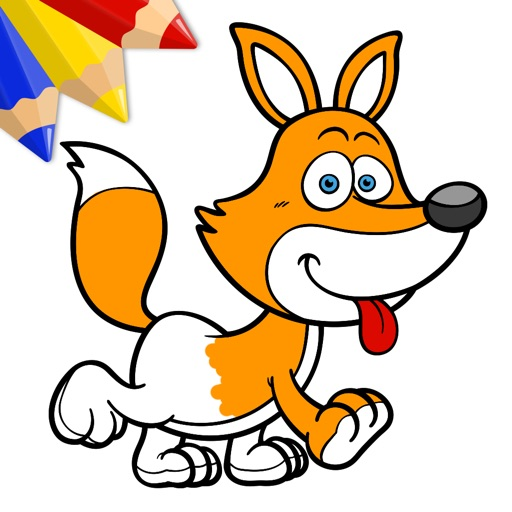 Funny Animals - Coloring Book for Little Boys, Little Girls and Kids