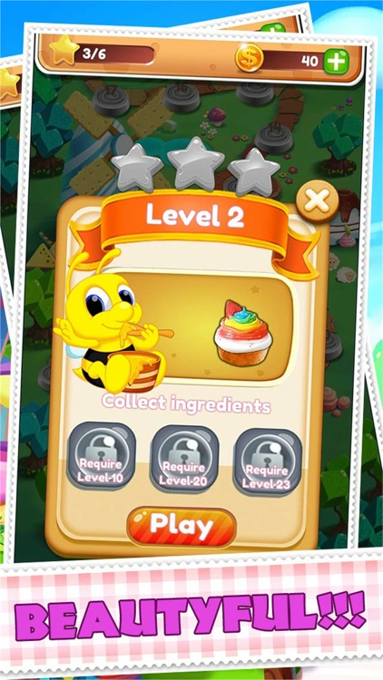 Sweet Yummy And Cookie Dessert Match 3 Puzzle screenshot-4