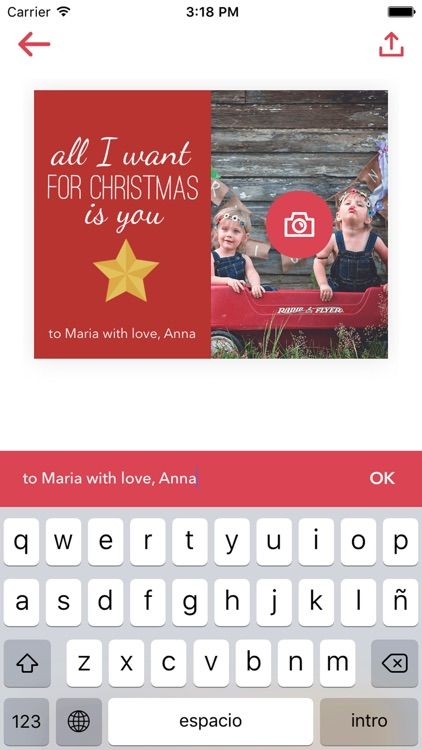 Greetingg - personalised greeting cards for all occasions screenshot-3