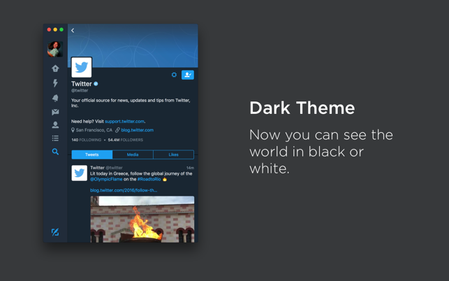Twitter on the Mac App Store